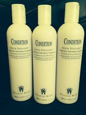 Lot of 3 Graham Webb Stick Straight High Gloss Smoothing Conditioner 16oz