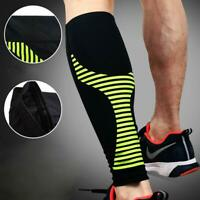 Sports Long Sleeves Leg Support Socks Varicose Veins Pain Calf Compression Brace