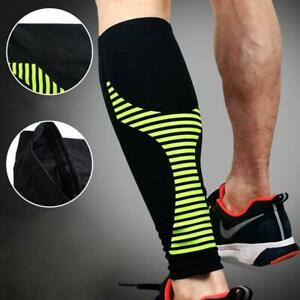 Sports Long Sleeves Leg Support Socks Varicose Veins Pain Calf Compression Brace