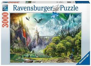 Ravensburger - Reign of Dragons 3000pc - Jigsaw Puzzle