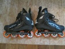New listing MISSION R ROLLER HOCKEY SKATES HI-LO FRAME 80mm/72mm SZ 9 LABEDA SHOOTERS-ONLY 9