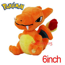 Pokemon Center Charizard Doll Figure Soft Plush Toy 6 inches Gift