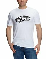 VANS Off The Wall New Men's Print Logo T-Shirt Top Tee S M L XL XXL White
