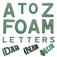 Funeral Foam Letters  Personalised Flower Memorial Display ANY NAME STAND Oasis