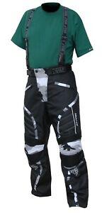 Wulfsport Alpina Adult Camo Salopettes Winter Motorbike Motocross Large