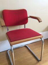 Original Vintage Marcel Breuer Cesca Office Chair Signed Knoll
