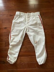 1976 SF GIANTS JIM BARR GAME USED WORN HOME PANTS WILSON SIZE 35