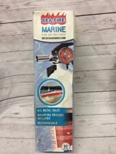 NOS Sea-Fire Boat Marin RV Fire Extinguisher FE10GR Net 37.8 Oz 6ft Stand