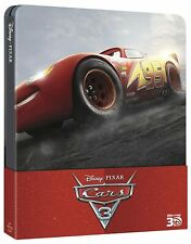 Blu-ray *** CARS 3 *** Steelbook Pixar 3D + 2D