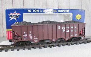USA TRAINS (R-14005) SOUTHERN PACIFIC 70 TON / 3-BAY COAL HOPPER  (D)