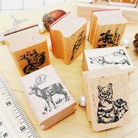 für Zeichnungen Papier Stempel aus Holz Karten Dekor Scrapbooking Malerei
