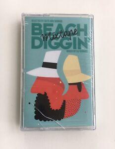 "Pura Vida Presents: Beach Diggin' ""Mixtape"" Cassette - Factory Sealed! RARE!"