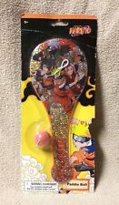 NARUTO Paddle Ball Toy Shonen Jump 2002 Masashi Kishimoto WHAT KIDS WANT! New