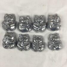 Lot Of 20 Lbs Soft Lead Cleaned Bear Ingots Reloading Jigs