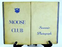 Antique Vintage P.A.P. LOYAL ORDER OF THE MOOSE Souvenir Photograph MASONIC