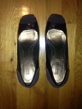 Kenneth Cole Brown Peeptoe Pumps Size 8