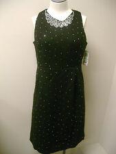INC International Concept Black Tweed Dress 8 NWT $119