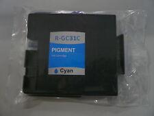 1 x Tintenpatrone wie Ricoh GC-31 cyan / 405689, 405702