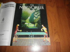 "NEW YORKER Magazine-""Pingpong Cover""- Mint-No Label-July 29,2013"