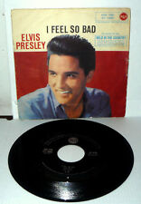 "ELVIS PRESLEY I FEEL SO BAD  7"" WILD IN THE COUNTRY  ITALY 1961  RCA  45N 1190"