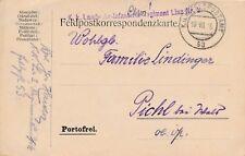 Nr.12592 Feldpostkarte K.u.K. Landwehr IR 2 Linz FP 53 1916  Schlacht Stanislau
