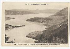 France - Lac d'Annecy, Vue du Col de la Forclaz - Vintage PPC
