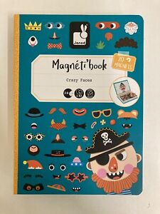 Magneti Book By Janod: Crazy Faces