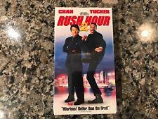 Rush-Hour 2 New Sealed Vhs! 2001 Thriller! See) Money Talks & The Medallion
