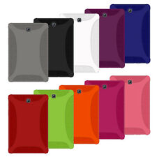 AMZER Silicone Skin Jelly Case Cover For Samsung GALAXY Tab S2 8.0 SM T710 T715