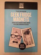 Ginger Fox-Único Geek - 22 Vasos Surtidos Imanes para refrigerador-Nuevo