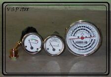 Allis Chalmers Tachometer,Oil,Temperature fits AC D14, D15, D17 Gas/LP