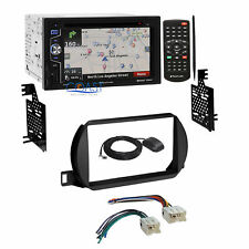 Planet Audio DVD Navigation Car Stereo Dash Kit Harness for 02-04 Nissan Altima