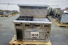 3638 New Sd Vulcan 48 Range 24 Griddle 4 Burner Conv Oven 48cf 4b24gn