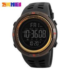 SKMEI Herren Digital Sportuhr Chronograph Datum Alarm Wasserdichte Armbanduhr