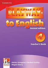 Playway to English Level 4 Teacher's Book, Cherry, Megan, Puchta, Herbert, Gerng