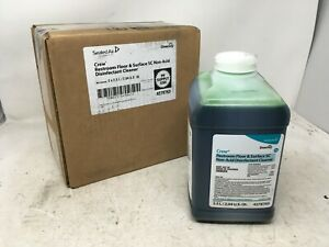 2-Pack - Diversey Crew Non-Acid Restroom Floor and Surface Cleaner, 2.5L 4278763