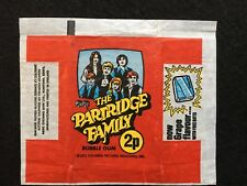 A&BC 1972 The Partridge Family 2p Wax Gum Card Wrapper
