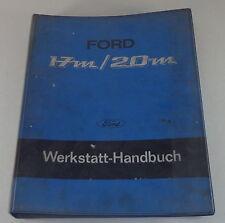 Manual de Taller Ford 17M/20m P7a Partir Año Fab. 1967 Stand 6/1967