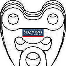 TOPRAN Halter Auspuff Haltering Schalldämpfer 400228