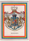 N°79 Roumanie Romania Rumanien ECUSSON BLASON Coat of Arms CHROMO IMAGE FLAG 30s