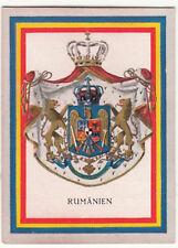 N°79 Roumanie Romania Rumanien ECUSSON BLASON Coat of Arms CHROMO IMAGE FLAG 30s