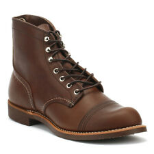 Red Wing Shoes Iron Ranger Brown Amber Mens Boots