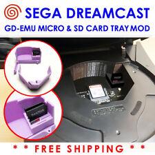 Sega Dreamcast GDEMU GDEmu SD Card Tray Mod Kit Drive Bay Insert GDI CDI ROM USA