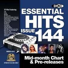 DMC Essential Hits 144 Chart Music DJ CD - Latest Releases of Radio Edit Tracks