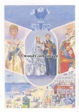 pq0174 - Prince Albert ( KEVII ) & Princess Alexandra of Denmark - art postcard