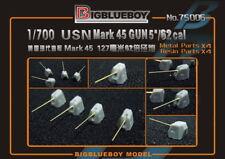 "Bigblueboy PE 1/700 USN Mark45 GUN 127mm 5""/62 cal 75006"