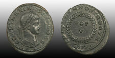 Constantine II Follis, Vows of Five Years, Siscia mint 320-321 AD great portrait