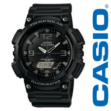 NEW Casio Men's Solar Ana-Digi Water Resistant Sports Watch AQS810W-1A2VCF Black
