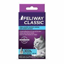 Feliway Classic Pheromone Diffuser Refill for Cats Anxiety Relief Stress 48 ml