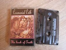 CEREMONIAL OATH - The Book Of Truth MC Rare AT THE GATES A CANAROUS QUINTET